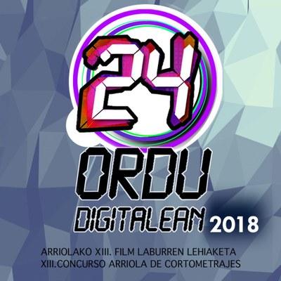 """""""24 ordu digitalean"""": 24 ordutan film labur bat"""