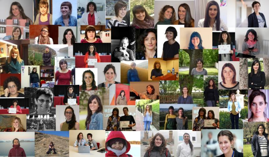 62 emakume, 62 ikertzaile, 62 lan interesgarri. Emakume Zientzialarien Nazioarteko Eguna