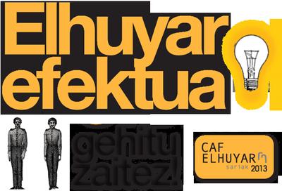 CAF-Elhuyar 2013 sarien ardatza Elhuyar efektua izango da: sormena, elkarlana, dibulgazioa eta diziplinartekotasuna