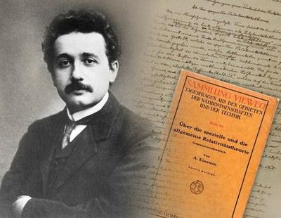 Einsteinen Erlatibitate Orokorraren Teoriak 100 urte