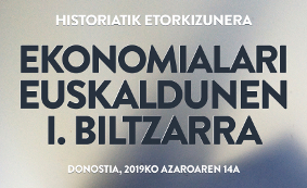 Ekonomialari Euskaldunen I. Biltzarreko aurkezpenak Otarrean eskuragarri
