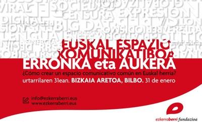 Euskal Espazio Komunikatiboa; erronka eta aukera