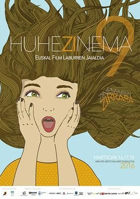 Euskal film laburren Huhezinema 2016 jaialdia abian