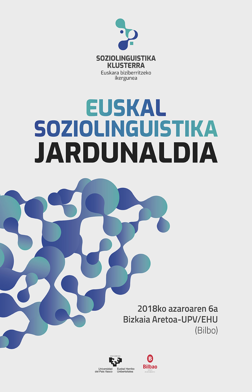 Euskal Soziolinguistika Jardunaldien 10. edizioa Bilbon egingo da azaroan