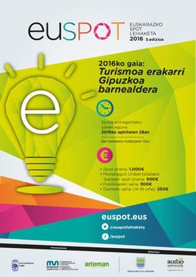 """""""Euspot"""" euskarazko spot lehiaketa abian"""