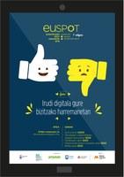 """Euspot, euskarazko spot lehiaketaren 7. edizioko gaia """"Irudi digitala gure bizitzako harremanetan""""  izango da"""