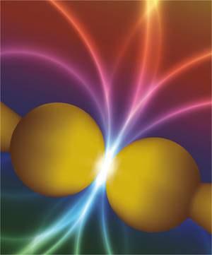 Fisika kuantikoari koloreak atera dizkiote