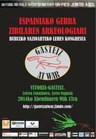 Gerra Zibileko Arkeologiari buruzko kongresua hartuko du Gasteizek abenduan