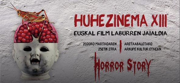 Huhezinema Euskal Film Laburren Jaialdia online jarraitzeko aukera egongo da martxoaren 25etik 27ra