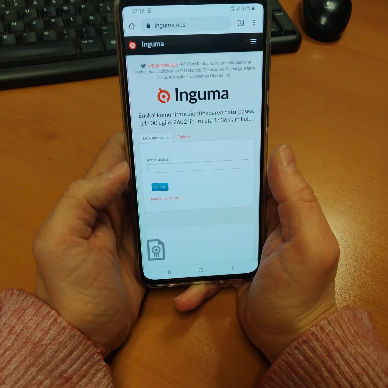 Inguma, euskal komunitate zientifiko-intelektualaren datu-basea