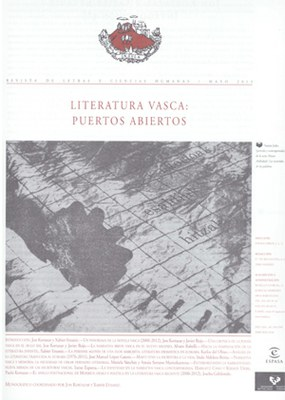 """Ínsula aldizkari ospetsuak gaur egungo euskal literaturaren monografikoa jaso du: """"Literatura vasca: Puertos Abiertos"""""""