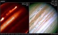 Jupiterreko jet-en misterioa