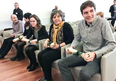 Koldo Mitxelena saria jaso dute UPV/EHUko bost doktorek beraien euskarazko tesiagatik
