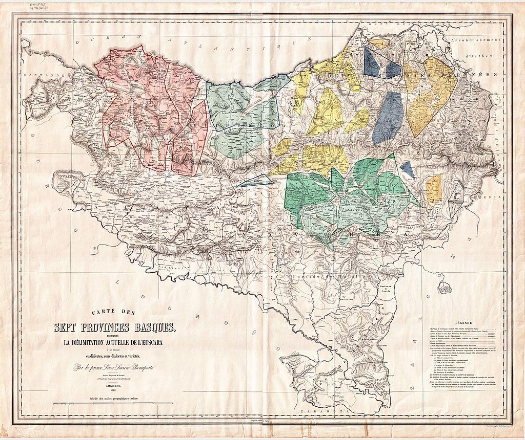 Luis Luziano Bonaparte printzearen euskarazko eskuizkribuak sarean jarri ditu Nafarroako Errege Artxibo Nagusiak