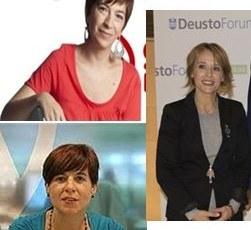 Maite Artola, Pilar Kaltzada eta Lourdes Perez kazetaritza konprometituaz mahai-inguruan