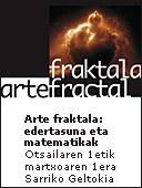 """""""Arte fraktala: edertasuna eta matematikak"""" erakusketa Sarrikoko metro geltokian dago ikusgai"""