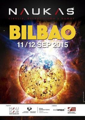Naukas Bilbao 2015: Zientzia eta umorea uztartzen dituen ekitaldia