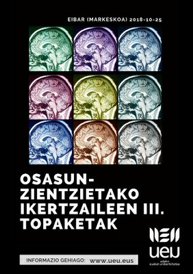 Osasun-zientzietako Ikertzaileen III. Topaketak urriaren 25ean egingo dira