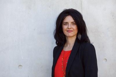 Ossau-Iratiko gaztaren bakterio laktikoak aztertu ditu Fabienne Feutry mikrobiologoak