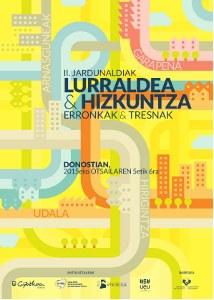 Otsailaren 4a arte dago zabalik Lurraldea eta Hizkuntza jardunaldien bigarren edizioan izena emateko epea