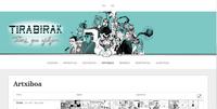 """Sarean da ikusgai """"Tirabirak"""" dokumental interaktiboa"""