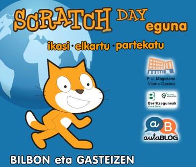 Scratch Eguna 2016 Bilbon eta Gasteizen