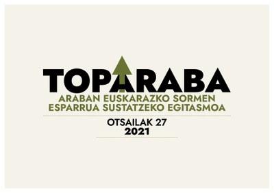 Araban euskarazko sormena sustatzeko TopArabara sortu du Oihanederrek
