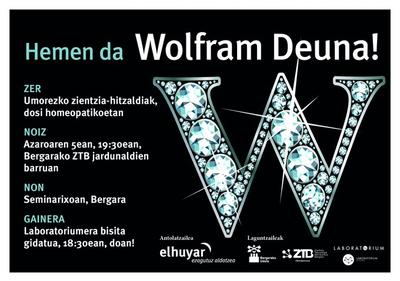 Umorezko bakarrizketa zientifikoak azaroaren 5ean, Wolfram Deunaren jaian