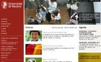 Universidad de Navarraren web gune berria