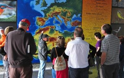 Urdaibai Bird Center-en ingurumen eta natura-turismora bideratutako prestakuntza-beka burutzeko deialdia egin dute
