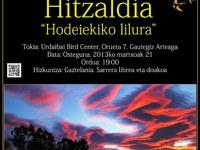 """Urdaibai Bird Center-ek """"Hodeiekiko lilura"""" hitzaldia antolatuko du bihar meteorologiaren mundu mailako egunarekin bat eginez"""