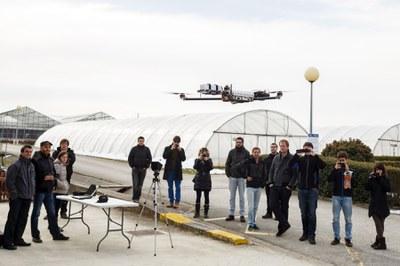 Zerealen biomasa satelite eta dronen bidez kalkulatzeko proiektu batean lan egiten ari da NUP