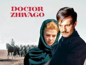 1. Irudia: Doctor Zhivago pelikularen kartela