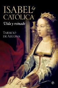 """2. irudia: """"Isabel La Católica"""" liburuaren azala."""