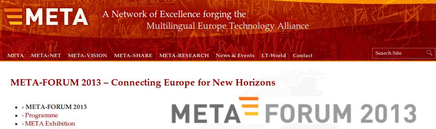 Meta-forum 2013