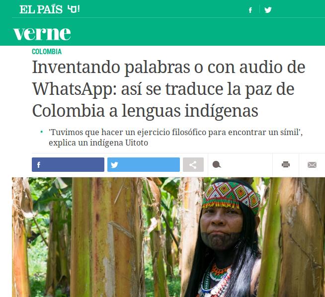 Ana Marcos-en artikulua ElPaísen