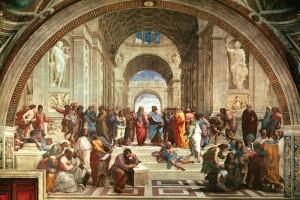 """""""Atenasko eskola"""", Rafaelen margolana (1510) [Argia]"""