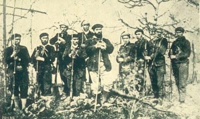 Santa Kruz apaiza eta bere guardia (Zumalakarregi Museoa)