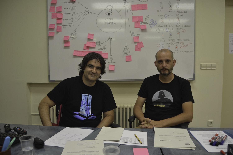 Mikel eta Joseba Visual thinking txikia